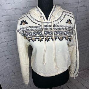 AQUA Embroidered Hoodie